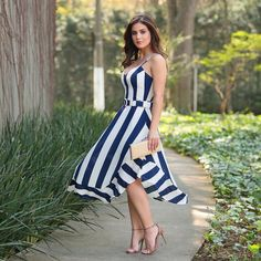 11 Best Summer Dress Fashions - 1 This summer is the most fashionable dresses. These fashion dresses will suit you very well. Most Beautiful Dresses, Pretty Dresses, Sexy Dresses, Fashion Dresses, Cocktail Wedding Attire, Fashion Beauty, Girl Fashion, Fashion Today, Mode Glamour