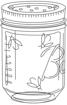 """""""Firefly Jar"""" Free for download  through July 13, 2014 Urban Threads: Unique and Awesome Embroidery Designs"""
