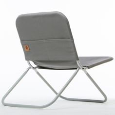 Shape Field Chair : Lightweight and canvas-clad, a modern take on the classic folding camp chair finally arrives