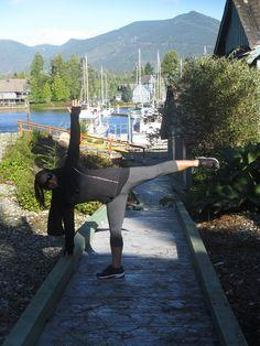 Balancing Half-Moon Flow, Yoga, Life