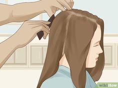 How to Cut a Layered Bob. Bobs are a super stylish look if you're hoping for a shorter option, and adding layers will give your hair more volume. To cut a layered bob, begin cutting the hair in sections. It's important to create an even. Cut Own Hair, How To Cut Your Own Hair, Hair Cuts, Stacked Bob Hairstyles, Layered Haircuts, Diy Hairstyles, Diy Haircut Layers, Haircut For Thick Hair, Hair Cut Lengths
