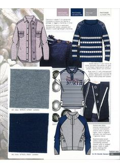 Fashion Box Men's Knitwear - S/S 2015