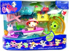 Littlest Pet Shop Themed G3 Playpack  TROPICAL TREASURE >>> Learn more by visiting the image link.
