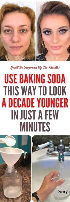 Use Baking Soda This Way to Look a Decade Younger in Just a Few Minutes    Perfect