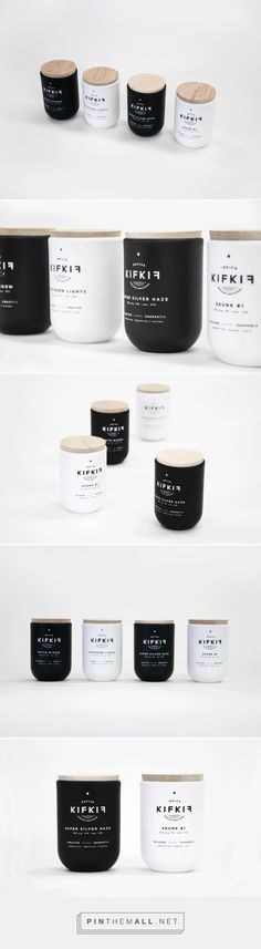 Kif Kif (Student Project) - Packaging of the World - Creative Package Design Gallery Bio Packaging, Candle Packaging, Bottle Packaging, Cosmetic Packaging, Print Packaging, Clever Packaging, Design Packaging, Black Packaging, Packaging Ideas
