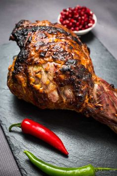 Indian Roast Leg of Lamb – a family roast dinner an Indian twist - Fleisch Lamb Recipes, Curry Recipes, Meat Recipes, Indian Food Recipes, Cooking Recipes, Healthy Recipes, Ethnic Recipes, Cooking Courses, Cooking Rice