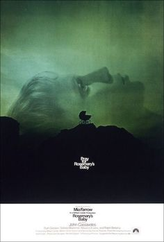 Horror - Rosemary's Baby - 1968 - Eerie and bone chilling! Paranoia becomes reality.
