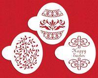 Faberge Easter Egg Cookie Stencils | Designer Stencils
