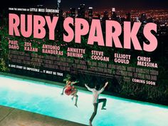 Ruby Sparks - directors of Little Miss Sunshine, producer/writer/actress Zoe Zazan and Paul Dano, what more do you need? Best indie comedy since 500 Days Of Summer. Ruby Sparks, Great Films, Good Movies, Quad, Sparks Movies, Zoe Kazan, Paul Dano, Annette Bening, I Love Cinema