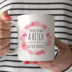Fuck Yourself Mug by Wildly Inappropriate - BestProducts.com