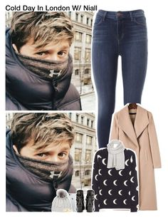 """""""Cold Day In London W/ Niall"""" by aileen2704 ❤ liked on Polyvore featuring J Brand, Chinti and Parker, Yves Saint Laurent, Sofiacashmere, AllSaints, OneDirection, 1d, NiallHoran and onedirectionoutfits"""