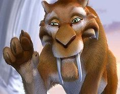 Image result for diego saber tooth dancing ice age 3 gif