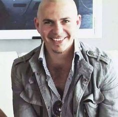 Those Eyes 💕💞💞 Pitbull The Singer, Pitbull Rapper, Pitbull Photos, Bald Men, Hot Guys, Hot Men, Gorgeous Men, Beautiful, My Man