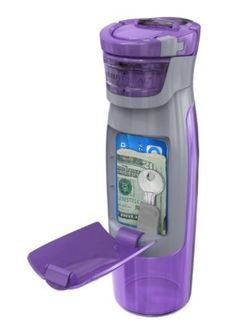 Contigo AUTOSEAL Kangaroo Water Bottle with Storage Compartment #productdesign