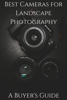 The best cameras for landscape photography. Here's a list of our favourite cameras for landscape photography, with options to suit every budget and including both DSLR and mirrorless options! Best Landscape Photography, Dslr Photography Tips, Photography Equipment, Photography Tutorials, Digital Photography, Amazing Photography, Portrait Photography, Travel Photography, Learn Photography