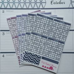 Sudoku Three Month Kit for ECLP Horizontal - Pink Elephant Planning LLC