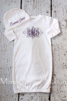 the CoOl Kids - Coming Home Outfit New Baby Gift Baby Shower by MonogrammeMaison  #thatseasier #cool #kids