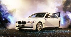 Special close-room events to advertise BMW 7-series