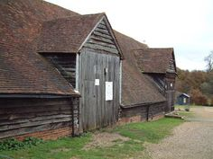 When the Mayflower was no longer of use, they took it apart and recycled it as a barn (pictured above).