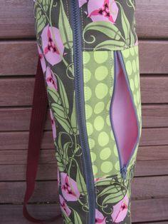 yoga bag with zipper
