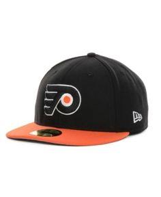 New Era Philadelphia Flyers Basic 59FIFTY Cap - Black 7 5/8