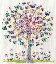 Love Spring Cross Stitch Kit only £28.40