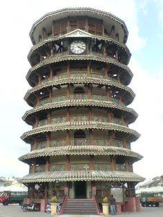 Leaning Tower of Teluk Intan, Perak Unusual Clocks, Cool Clocks, Amazing Architecture, Art And Architecture, Beautiful World, Beautiful Places, Asia, Antique Clocks, Water Tower