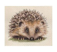 HEDGEHOG ~ Full counted cross stitch kit, large-scale chart, with all materials