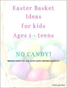 35 cheap easter basket filler items cheap easter baskets easter easter basket ideas for kids ages 1 teens huge list broken down by negle Gallery