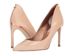 Ted Baker Saviopl Women's Shoes Nude Patent Leather