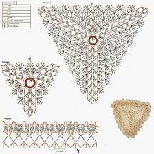Resultado de imagem para biquines indiano em croche com grafico