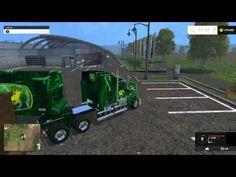 Farming Simulator 2015 Mods - Ford F-450, Kenworth, John Deer trailer, CAT