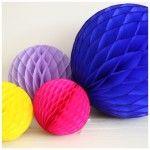 Honeycomb bollen in knalkleuren!