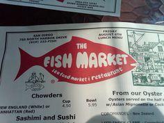 The Fish Market near Downtown San Diego