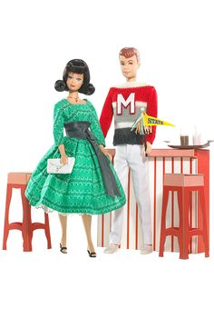 Campus Sweet Shop™ Midge®Doll and Allan™Doll Giftset | Barbie Collector