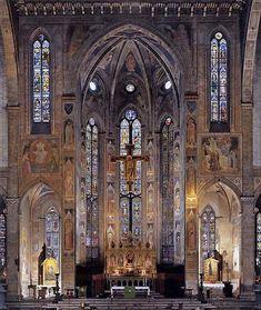 Santa Croce, Florence, Giotto