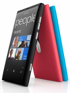 Nokia Lumia 800. Simply beautiful. And mine :)