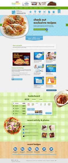 Kraft First Taste - RiSER created an interactive website to promote Kraft Canada's giant loyalty program, First Taste. #flash #webdesign