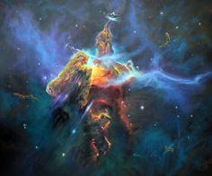 Carina Nebula Mystic Mountain (page 2) - Pics about space