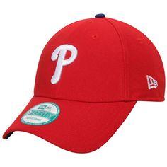 Philadelphia Phillies New Era Men's League 9Forty Adjustable Hat - Red  -
