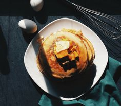 Reiko's Chocolate Banana Protein Pancake Recipe