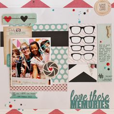 layout for Chic Tags using My Mind's Eye's Cut and Paste: Flair #chictags #mymindseye