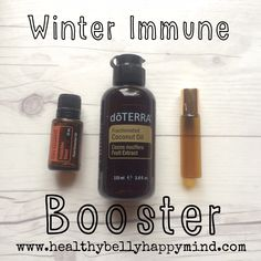 Boost your immune system with the lovely On Guard blend which is a mix of wild orange, clove, cinnamon, eucalyptus and rosemary. This is doTerra's protective blend and it smells devine... A great tip is to put 10drops in a 10ml roller bottle and then fill with fractionated coconut oil. Shake and rub on the…