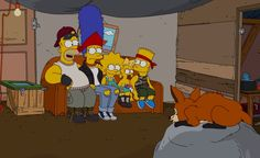 """For its 500th episode, the series that spoofed American family life, pop culture, the media, politics and monorails now spoofs… """"The Simpsons."""" http://ti.me/wHHxso"""