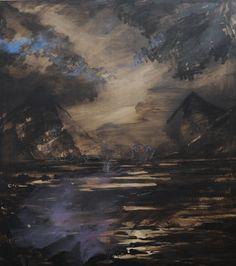 Olivier Masmonteil, Le Paysage Effacé, 2012, Acrylic and oil on canvas, 180 x 160 cm, Courtesy Galerie Dukan