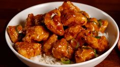 Sticky Orange Chicken
