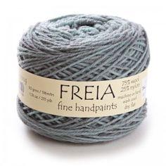 Freia Handpaint Semi-Solids Fingering yarn — 75% wool from Colorado spun with 25% nylon, 196m/215yds, 50g /1.67oz — $14.50 ||| Stitch Diva Studios