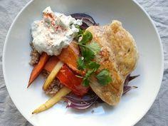 Denne retten er inspirert av middelhavet og er noe av det sunneste middagsalternativ for hverdager og fest. Man kan variere med grønnsaker og kjøtt,...