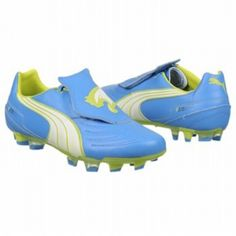 SALE - Puma EC1292454 Soccer Cleats Mens Blue Leather - Was $90.00 - SAVE $9.00. BUY Now - ONLY $81.00