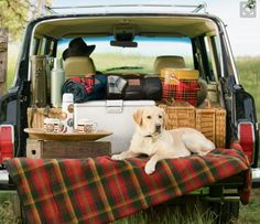 Pendleton - now that is a tailgate picnic Fall Picnic, Picnic Time, Summer Picnic, Beach Picnic, Jeep Wagoneer, Pendleton Woolen Mills, Company Picnic, Tailgating, Tailgate Parties